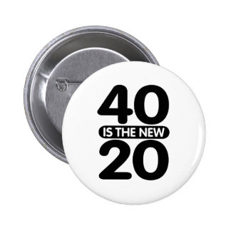 40 Is The New 20 Pins