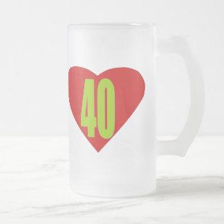40 FROSTED GLASS MUG