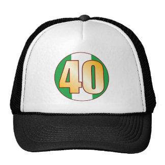 40 NIGERIA Gold Cap
