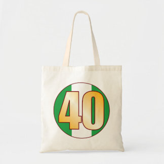 40 NIGERIA Gold Tote Bag