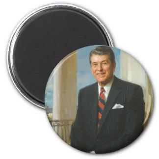 40 Ronald Reagan 6 Cm Round Magnet