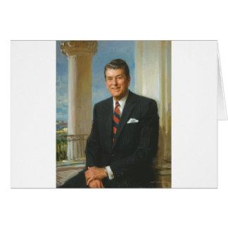 40 Ronald Reagan Greeting Card