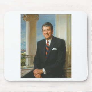 40 Ronald Reagan Mouse Pad