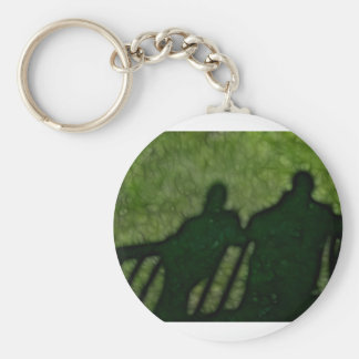 40 - Shadow People Basic Round Button Key Ring