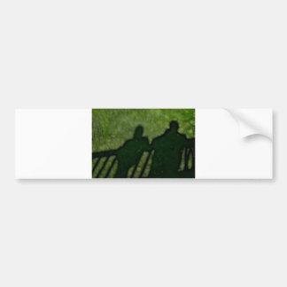 40 - Shadow People Bumper Sticker