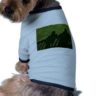 40 - Shadow People Ringer Dog Shirt
