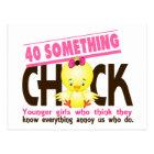 40-Something Chick 3 Postcard