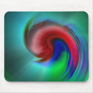#40 Swirl Mouse Pad