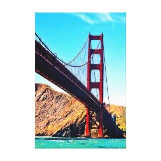 40 X 60 GOLDEN GATE BRIDGE WRAPPED CANVAS PRINT