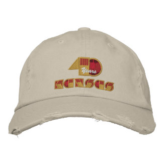 40 Year Anniversary Logo Embroidered Hats