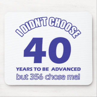 40 years advancement mouse pads