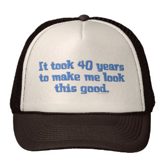 40 Years Old Trucker Hat