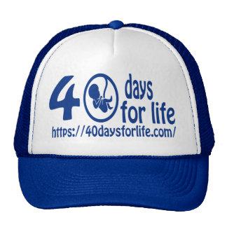 40DAYSFORLIFE.COM COME STAND UP FOR LIFE  ! CAP