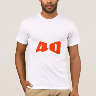 40th Anniversary Invitation T-Shirt