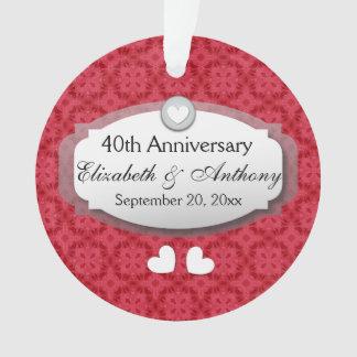 40th Anniversary Wedding Anniversary Ruby Red Z06
