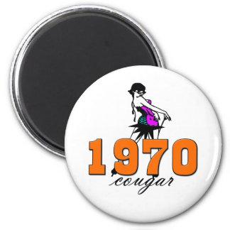 40th Birthday 6 Cm Round Magnet