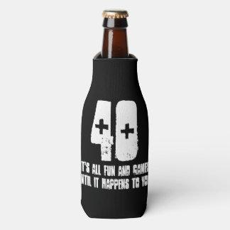 40th Birthday Bottle