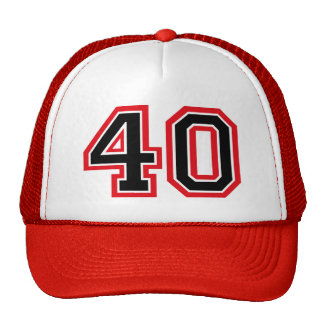 40th Birthday Cap