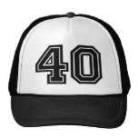 40th Birthday Cap