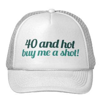 40th birthday FUN Mesh Hat