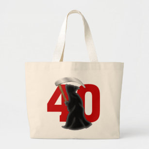 Funny 40th Birthday Bags | Zazzle UK