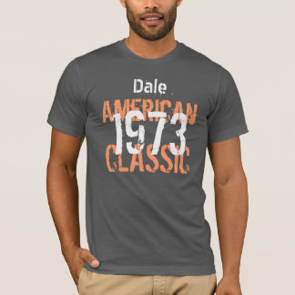 40th Birthday Gift 1973 American Classic  V204 T-Shirt