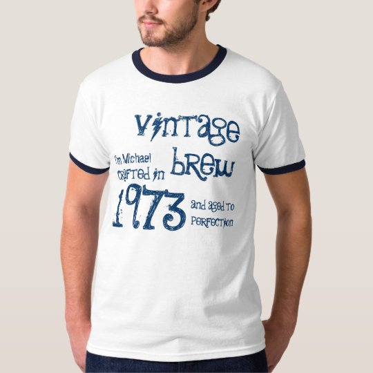 40th Birthday Gift 1973 Vintage Brew Name For