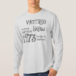 40th Birthday Gift 1973 Vintage Brew T-Shirt