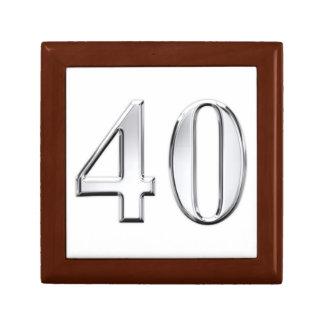 40th Birthday Gift Box
