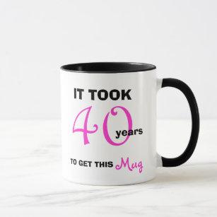 40th Birthday Gift Ideas For Women Mug