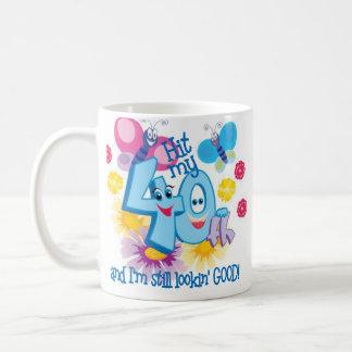 40th Birthday Gift Mugs