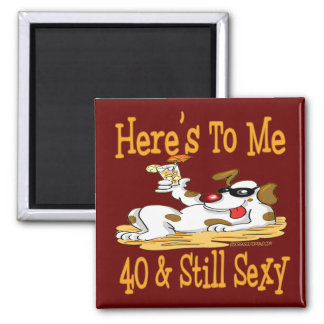 40th Birthday Gifts Magnet