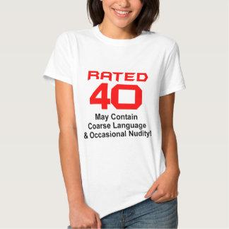 40th Birthday Gifts! Tshirt