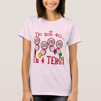 40th Birthday Humor T shirt