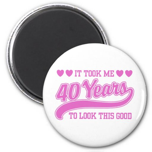 40th Birthday Magnets