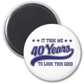 40th Birthday Magnet