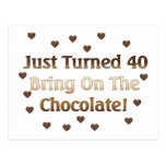 40th Birthday Means Chocolate