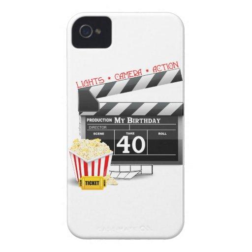 40th Birthday Movie Birthday Party iPhone 4 Case