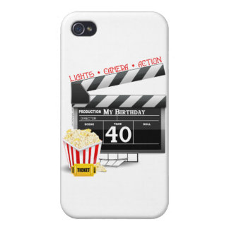 40th Birthday Movie Birthday Party iPhone 4/4S Covers