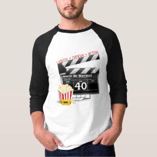 40th Birthday Movie Party T Shirt
