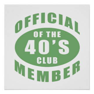 40th Birthday Official Member Posters