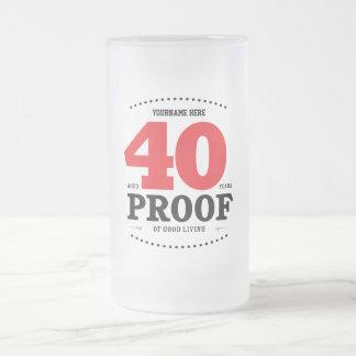40th Birthday Proof of Good Living - Mug