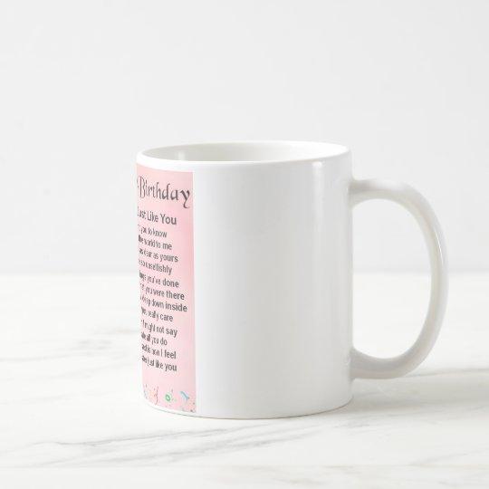 40th Birthday - Sister Poem Coffee Mug