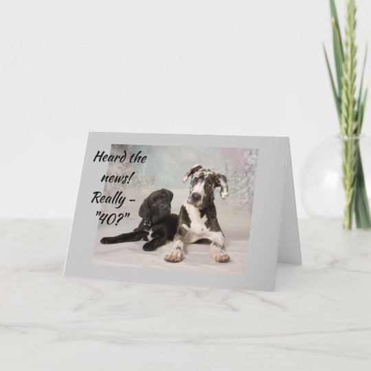 40th Birthday To A Very Special Friend Card Zazzle