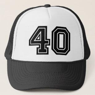 40th Birthday Trucker Hat 580e4f6793a