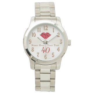 40th Wedding Anniversary Gifts for Wife or Husband Watch
