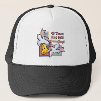 40th wedding anniversary gt trucker hat