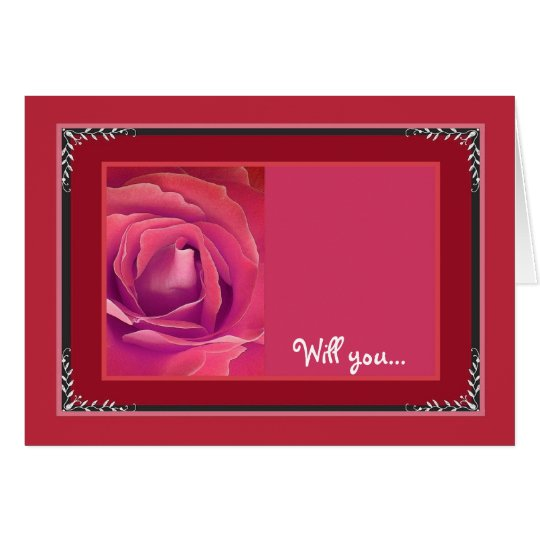 4127_SPECIAL REQUEST_RED_BRIGHT_COMIC_LOVE_BLANK CARD