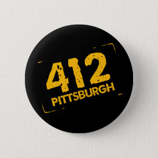 412 Pittsburgh 6 Cm Round Badge