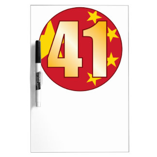 41 CHINA Gold Dry Erase Board